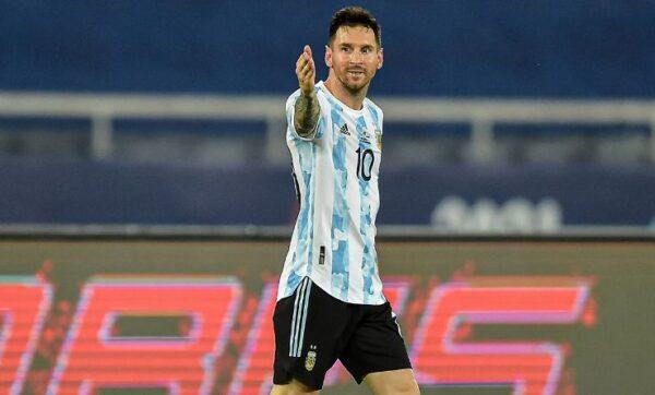 Messi ya yi wasa na 147 a tawagar Argentina